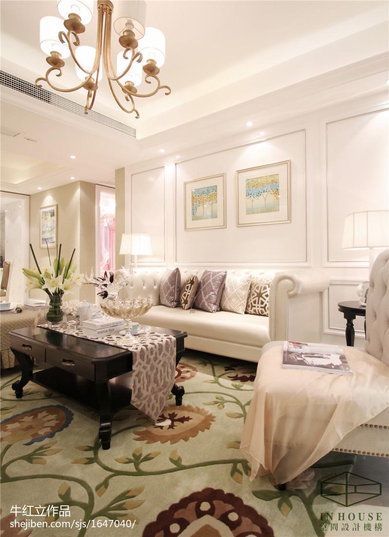 餐厅吊灯模型_欧式客厅家装样板间图片汇总 – 设计本装修效果图
