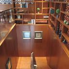 中式咖啡厅楼梯装修效果图