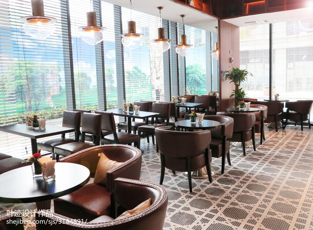 中式风格咖啡厅装修效果图