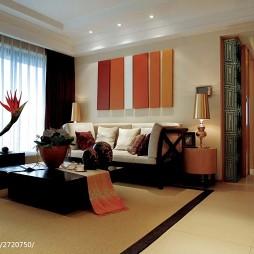 东南亚风格客厅装修设计案例