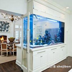 鱼缸造景效果图图集