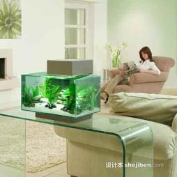 鱼缸造景效果图图库
