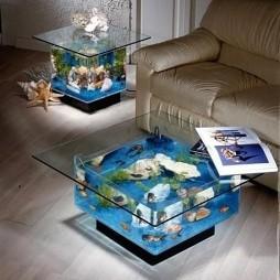 鱼缸造景效果图库欣赏