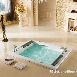 冲浪按摩浴缸效果图片