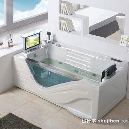 冲浪按摩浴缸效果图库