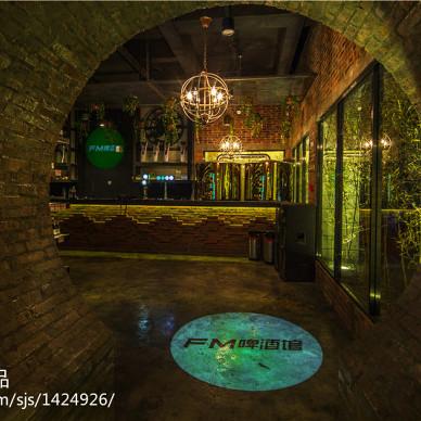 混搭风格酒吧入口设计效果图