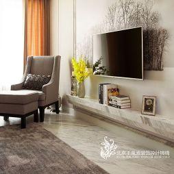 最新现代客厅家装设计效果图片大全