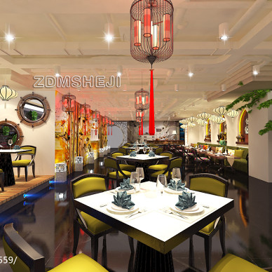 [ZDMSHEJI]北京缘素餐饮有限公司餐饮空间确定方案_1731207