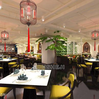 餐饮空间设计效果图片欣赏