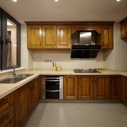 中式整体厨房设计