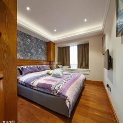现代中式卧室装璜设计