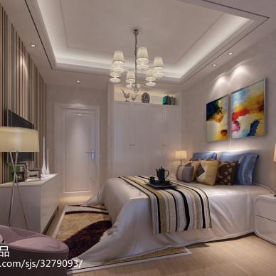 现代风格卧室装修效果图大全2017图片