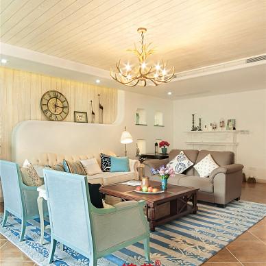 混搭风格客厅装修设计效果图欣赏