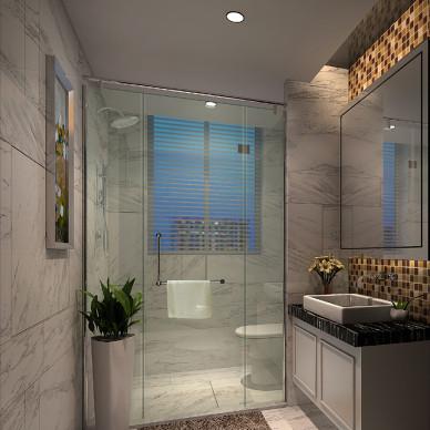 陶瓷浴室柜效果图看集