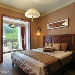 东南亚风格卧室装修设计