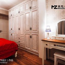 地中海风格卧室衣柜装修设计