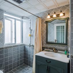 地中海风格卫浴铺砖装修设计