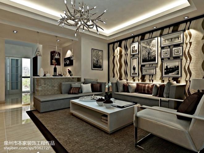 欧式客厅壁画图片