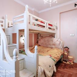 新古典风格儿童房上下床设计
