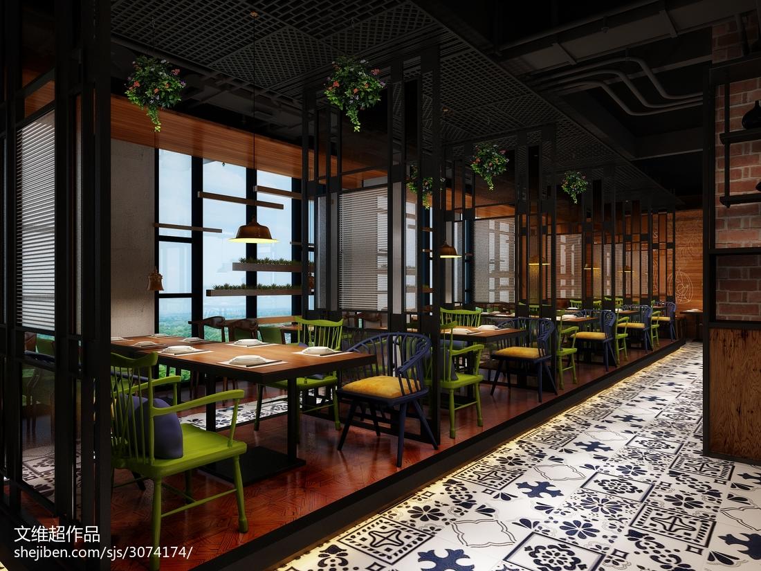 港式茶餐厅装修效果图图集