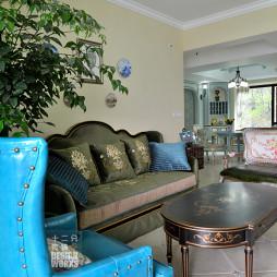 欧式风格客厅复古家具设计效果图