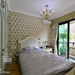 欧式风格卧室阳台设计效果图欣赏