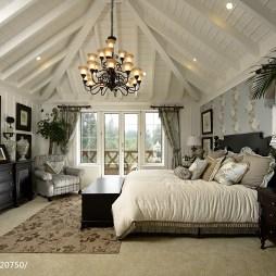 田园风格卧室装修设计
