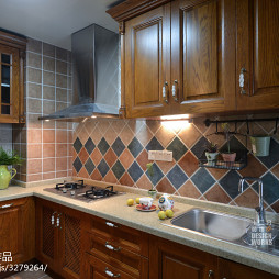 混搭厨房不锈钢水槽效果图