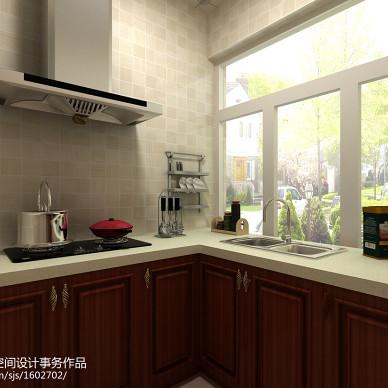 中式厨房设备装修图片