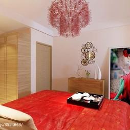布置婚房卧室效果图大全