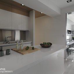 现代简约厨房装修设计