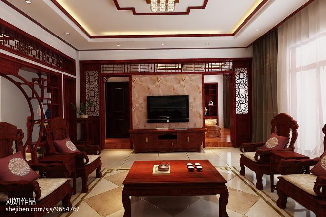中式古典家具效果图片