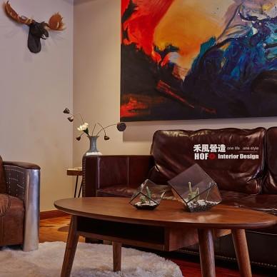 混搭风格客厅设计图片欣赏