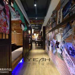 日式餐厅走道装修效果图