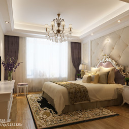 欧式女孩房间装修效果图