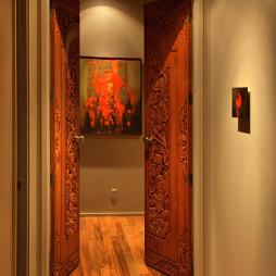 房间木门装饰图片
