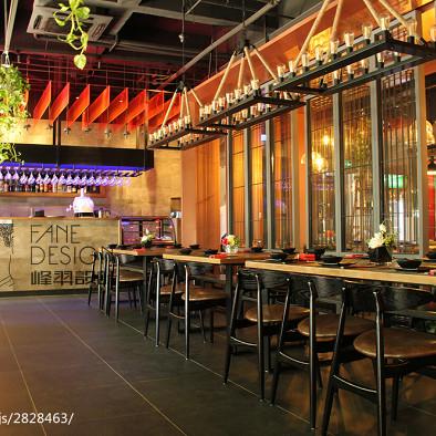 复古中餐厅装修设计效果图