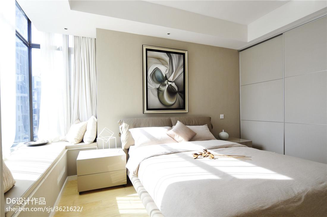 无窗厨房装修效果图_简约现代卧室飘窗装修设计 – 设计本装修效果图