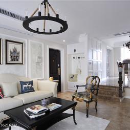新古典客厅隔断设计