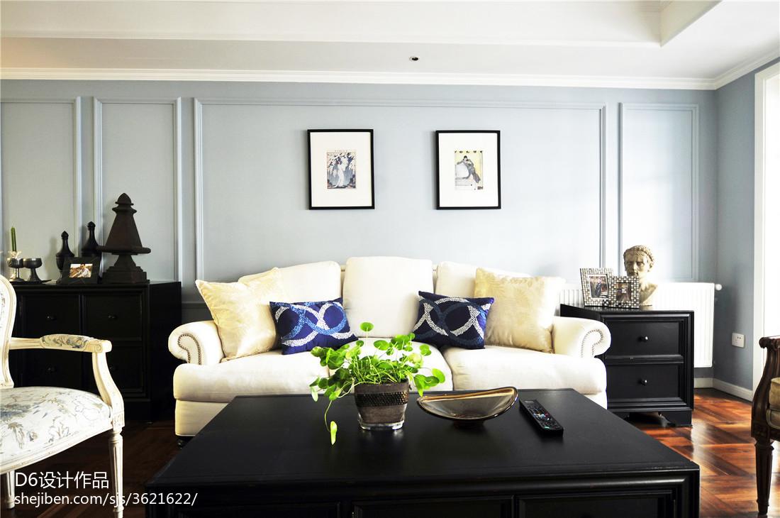 2017美式家装客厅效果图