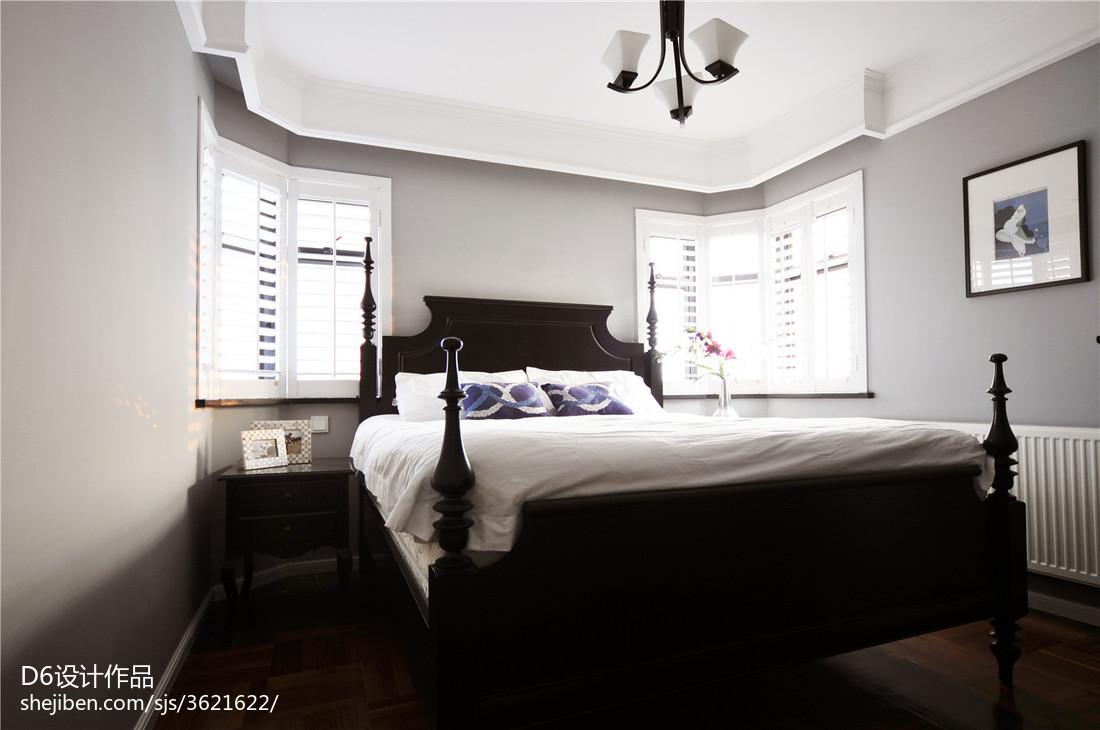美式简约卧室设计