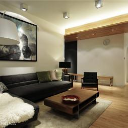 现代简约风格客厅过道设计