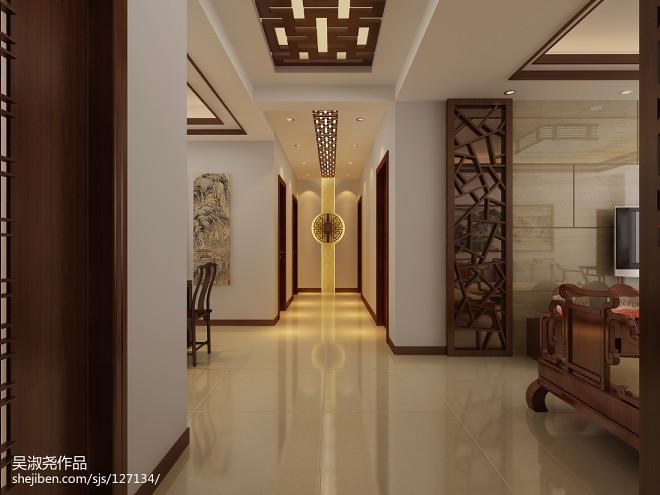 客厅走廊效果图片