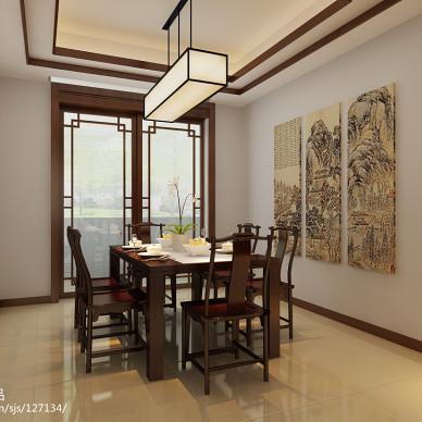 中式风格实木餐椅装修家居图片