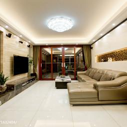 中式客厅吊顶装修设计效果图大全欣赏