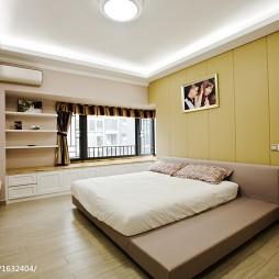 现代简约卧室榻榻米设计