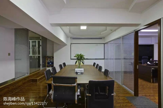 公司会议室装修效果图