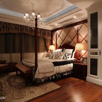别墅混搭风格卧室装修设计效果图欣赏