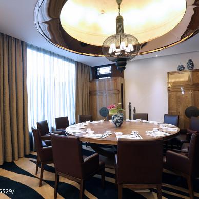 混搭休闲中心餐厅吊顶设计