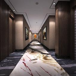 连锁酒店走廊效果图图片欣赏